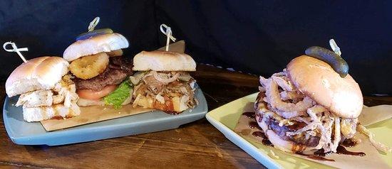 Triple Threat Sliders & craft burgers