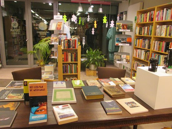 Leuven, excellent second hand bookstore