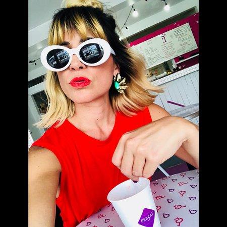 Peccas Helado Artesanal: Rebecca Tiago ❤️