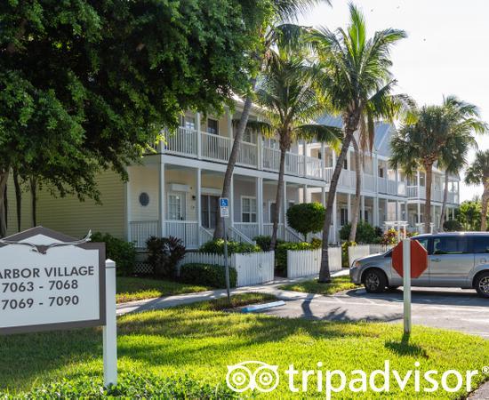 Street at the Village at Hawks Cay Villas by Keys Caribbean