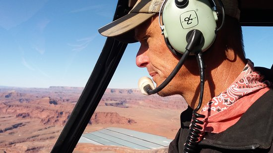 Pinnacle Helicopters: pilote Ben