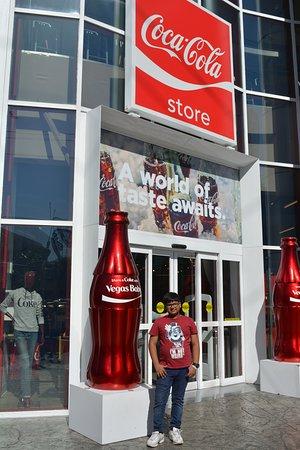 Coca Cola Store at The Strip in Las Vegas