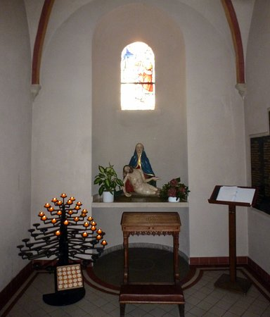 Rhede, Germany: Das ist in der Kirche zu sehen.