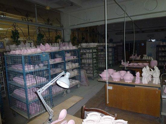 Gzhel Museum: Изделия, готовые к росписи