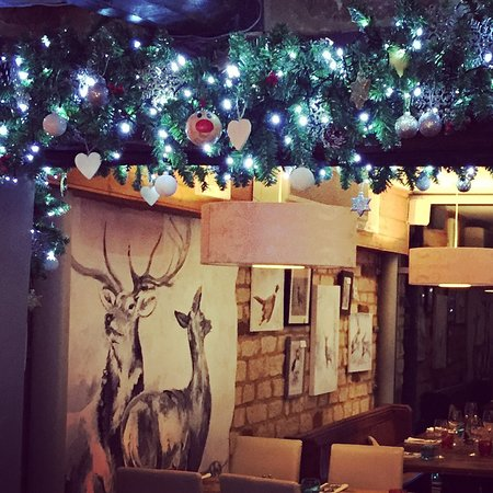 Festive dining at The Lion