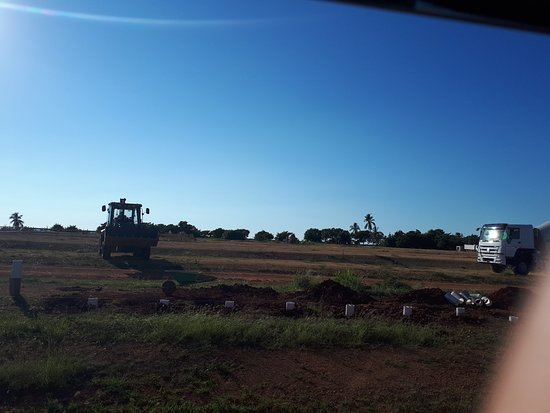 There is  a  new hotel being built in Trinidad  on the Ancon Peninsula.  It will eventually  be a Melia  hotel, hopefully  opening 2022.  It is  located beside the Costa  Sur  Hotel. Photos show the clearing  of the land and the groundwork.