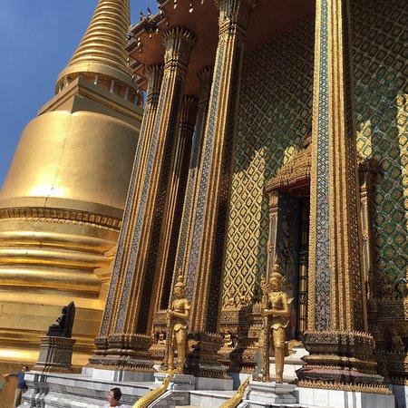 القصر الكبير: The beautiful grand palace in Bangkok