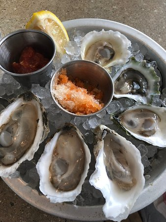 Eventide Oyster Company: Freshly shucked oysters