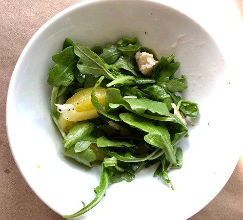 Tempest Bistro: Arugula salad with orange and shaved fennel
