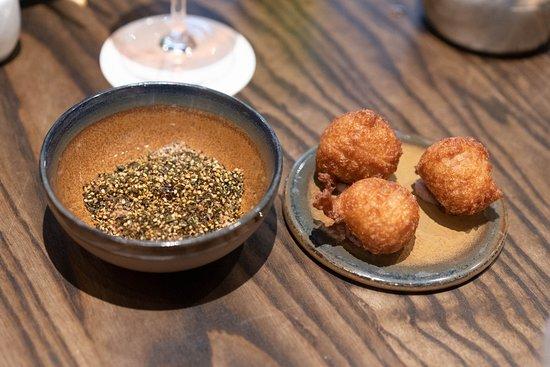 Poi Mochi Shio Koji Chicken Liver Pâté, Furikake