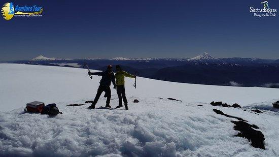 Panguipulli, Chile: Cumbre del Volcán Mocho Choshuenco