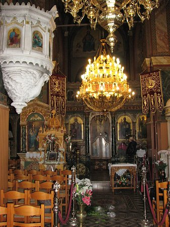 Inside of the church