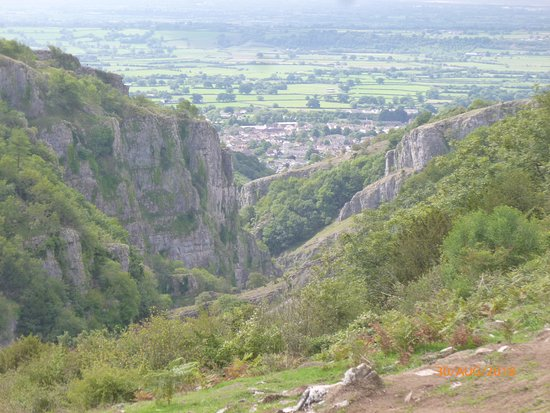 "Cheddar Gorge & Caves: The ""gorge""uos views!!"