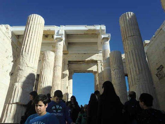 Atenas, Grécia: 混み合っています。
