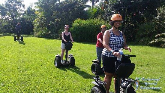 Segway Mamalahoa Tour - 120 Minutes - Rating: MODERATE: Segway FUN at Botanical World! It's a blast!
