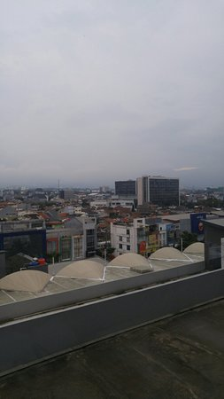 YELLO Hotel Paskal: View from our room
