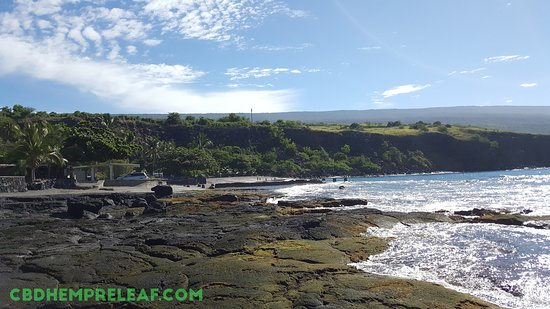 Ho`okena Beach Park is the historical site for one of the last active Hawaiian canoe fishing villages in Hawai'i.