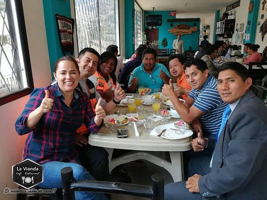 Chillanes, Эквадор: La Vianda Café -  Restaurant