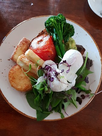 A Minor Place: Vegetarian big breakfast :-)