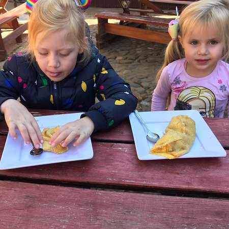 Pancakes at The Stables