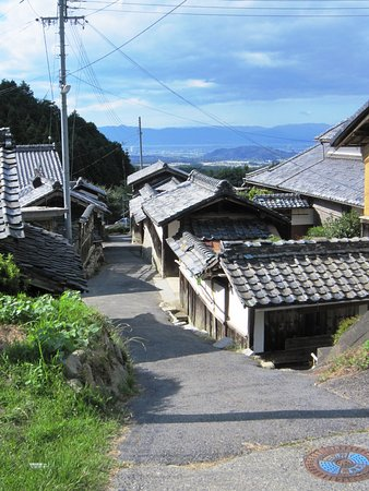 Ritto, Japan: 観音寺からはるか琵琶湖
