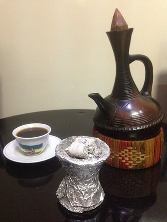 nothing compares with a fresh roasted and a charcoal brewed Jabana coffee ...