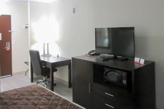 "Guest Rooms Amenities: 42"" Samsung Prodium Flat Screen TV With High Def Channels Inc. HBO, Mico & Fridge, In-Room Coffeemakers , Hairdryers, Free Wi-Fi & Local Calls."
