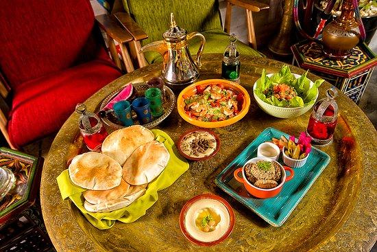Beirut - Mediterranean Kitchen & Lounge: Dining Set