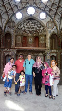Operated group tour in August by Irantours