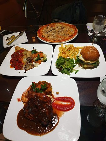 Our four amazing dishes