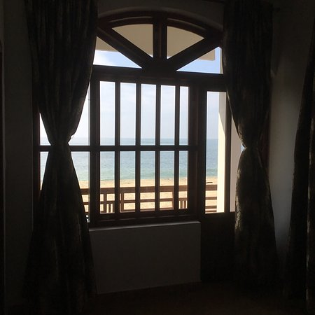 Аллапужа, Индия: Rooms with beach view