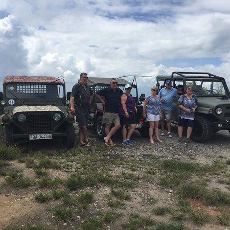 We are Namtrantour We are love's Jeep & Vespa