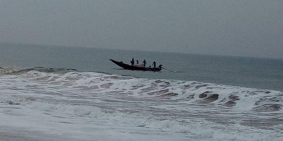 Sea view from Jeevan Sandhya Inn, Puri