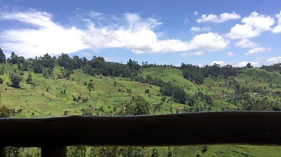 Gacharageini, Quênia: Die Aussicht ist unbezahlbar
