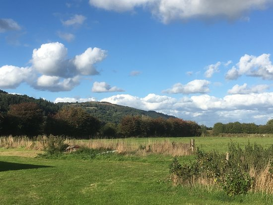 Meifod, UK: 1 acre field available for use