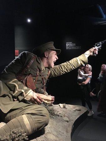 Museum of New Zealand Te Papa Tongarewa: One of the amazing figures at the Gallipoli exhibit