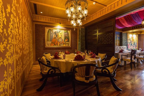 Maharaja Private Dining Room
