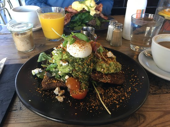 Now THAT is a smashed avocado