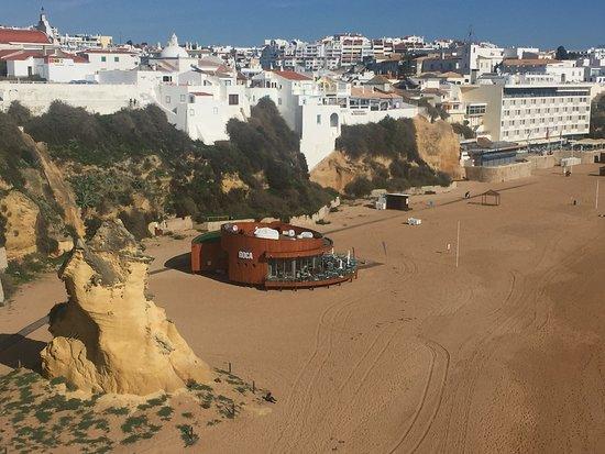Roca Beach Bar & Restaurante: Roco Beach bar and restaurant Albuferia, Portugal