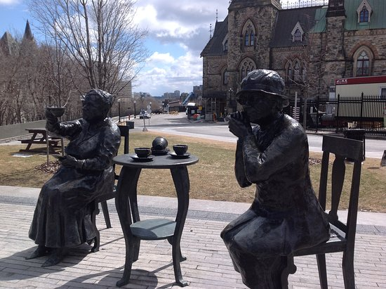 Оттава, Канада: Cerca del parlamento,hermoso