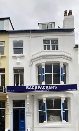 Backpackers Blackpool Ltd