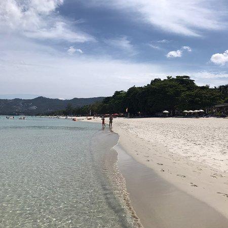 Chaweng Beach: Spiaggia di chaweng,Thailandia. Sabbia finissima di color bianca, acqua cristallina!