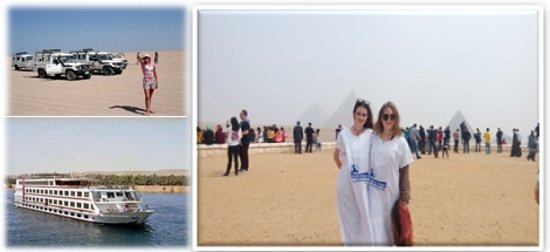 Our Guest in classical trip all over Egypt
