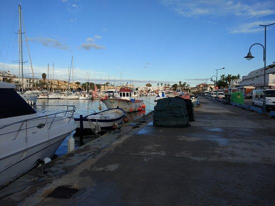 Naranjito: Donde coges a embarcación de traslado al punto de buceo