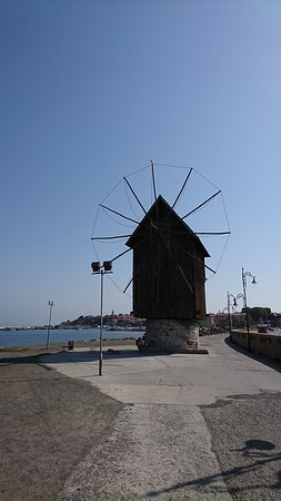 the fist think that you would see in Nessebar