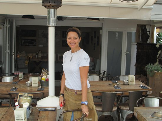 Restaurant Meatclub Mallorca: The Owner