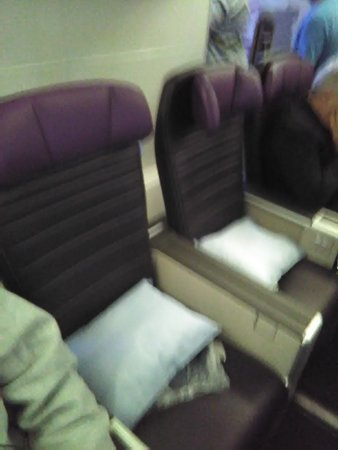 United Airlines: This is what I paid for.