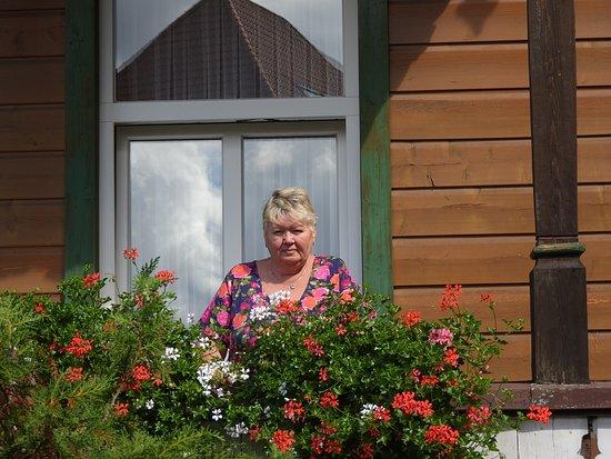 Ferienhotel Pension Schweizer Hof: Auf dem Balkon vor unserem Zimmer