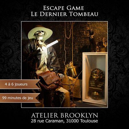 Live Escape Game, Le Dernier Tombeau, en 99 minutes trouvez le trésor de Ramses II et sortez de son tombeau.