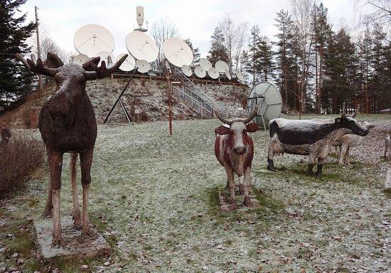 Radio and TV Museum: Satellites
